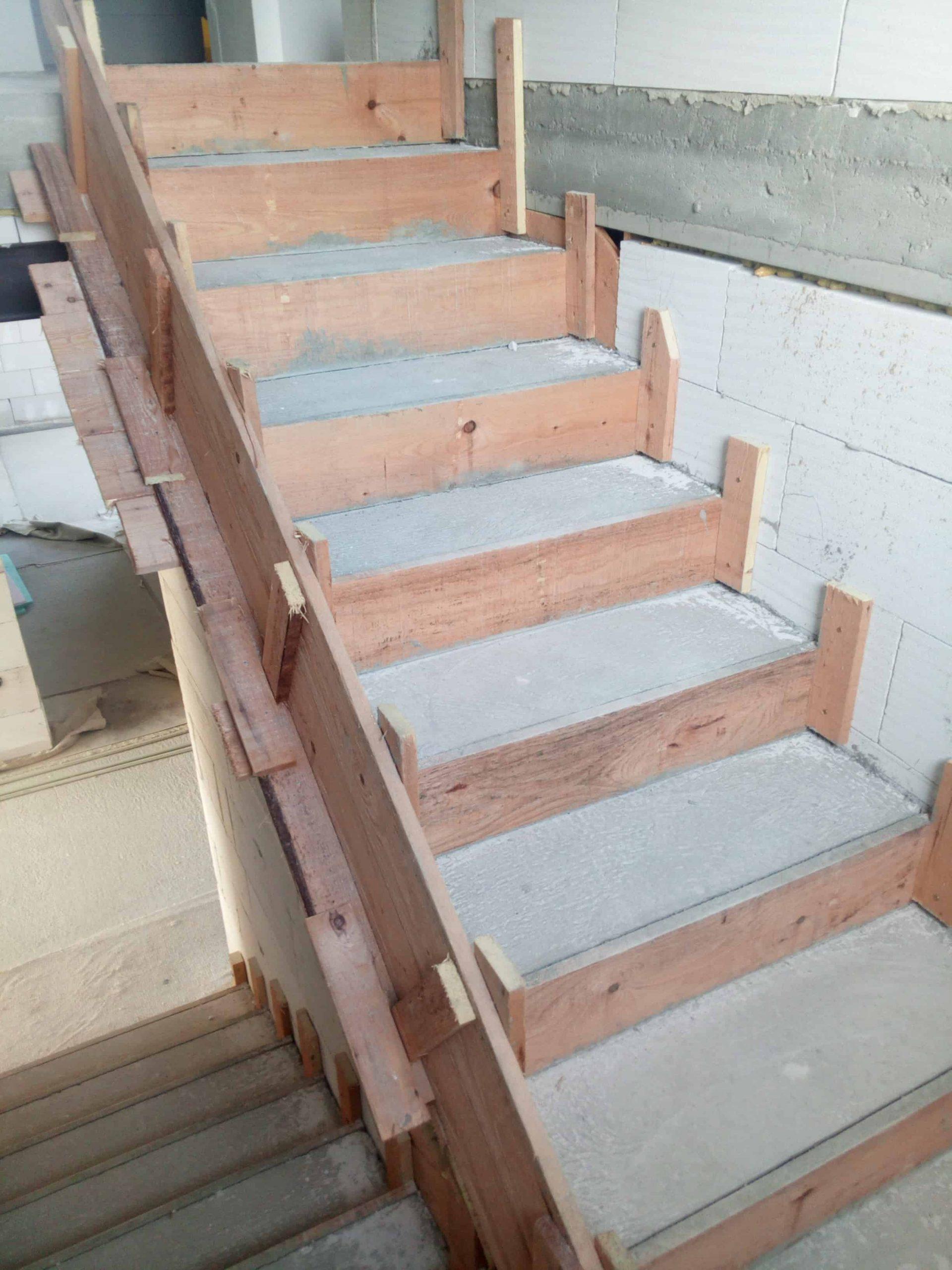 šalování schodišť